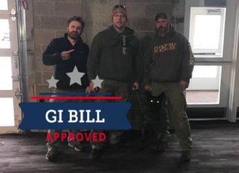 Training and Canine's approved for GI Bill