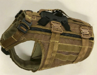 K9 Ballistic Harness COBRA buckles