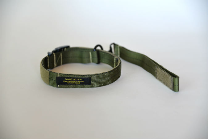 Tab Lead deployed while mounted on Fail-Safe Collar