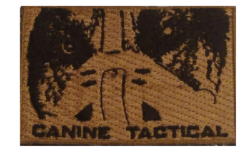 Canine Tactical Velcro Patch